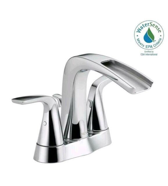 Delta Bathroom Faucets.Delta Nyla 17708lf Eco Chrome Bathroom Faucet Water Sense For Sale