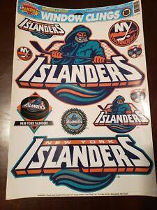 New-York-Islanders-Fisherman-Vintage-Window-Cling-Set
