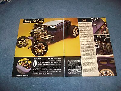 "1930 Ford Modell A 5-window Coupe Purple People Eater Artikel "" Drag It Out"