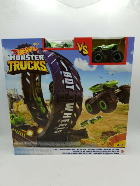 Hot Wheels Monster Truck Loop Playset