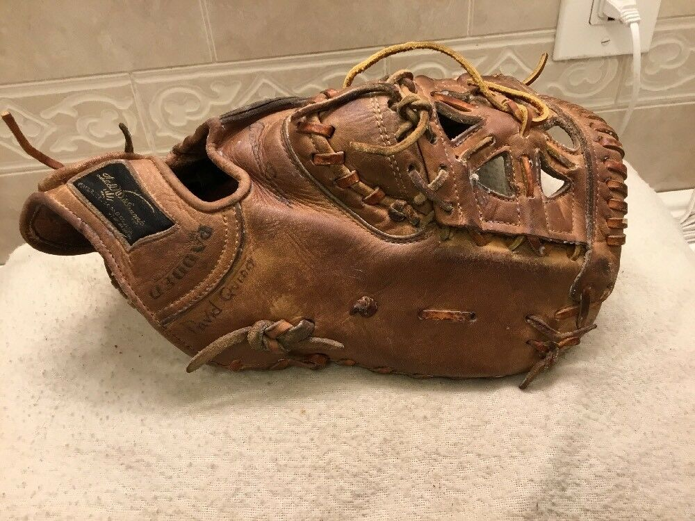 "Ted Williams 12.75"" Baseball Softball First First Softball Base Mitt Right Hand Throw rosso Sox 007fed"