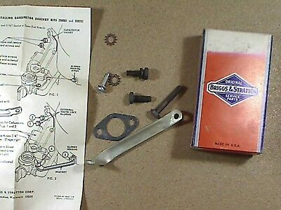 Genuine Briggs and Stratton 298082 carburator bracket kit