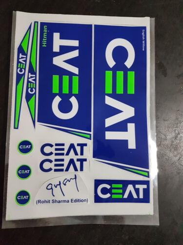 BUY ONE GET ONE FREE 2019 CEAT ROHIT HITMAN EDITION CRICKET BAT STICKER