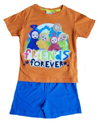 Children Teletubbies Pyjamas Kids Short Teletubbies Sleepwear Age 3-6 Years