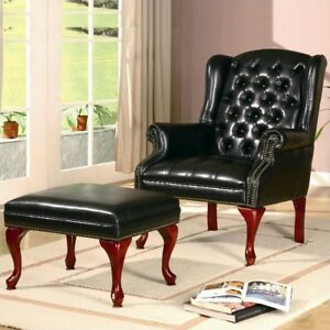 Marvelous Coaster Home Furnishings Traditional Accent Chair Cherry Black Andrewgaddart Wooden Chair Designs For Living Room Andrewgaddartcom