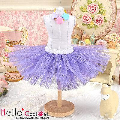 ☆╮Cool Cat╭☆145.【PC-04】Blythe/Pullip Tulle Ball Mini Skirt # Purple
