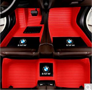 Car floor mat Fits For BMW X1,X2,X3,X4,X5,X6,Z4 2000~2019 custom logo