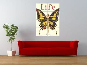 Magazine-1922-Life-Butterfly-Dancer-Giant-Wall-Art-Poster-Print