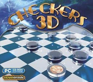CHECKERS 3D  Advanced Virtual Opponents  Win 7 8 10 Vista  Endless Checkers Fun