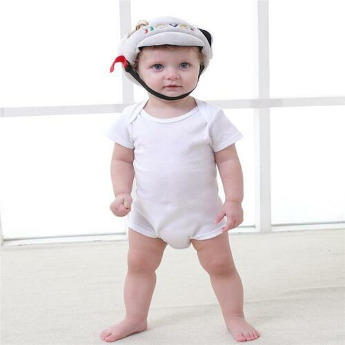 Infant Baby Toddler Safety Helmet Kids Head Protection Hat Walking Crawling DS