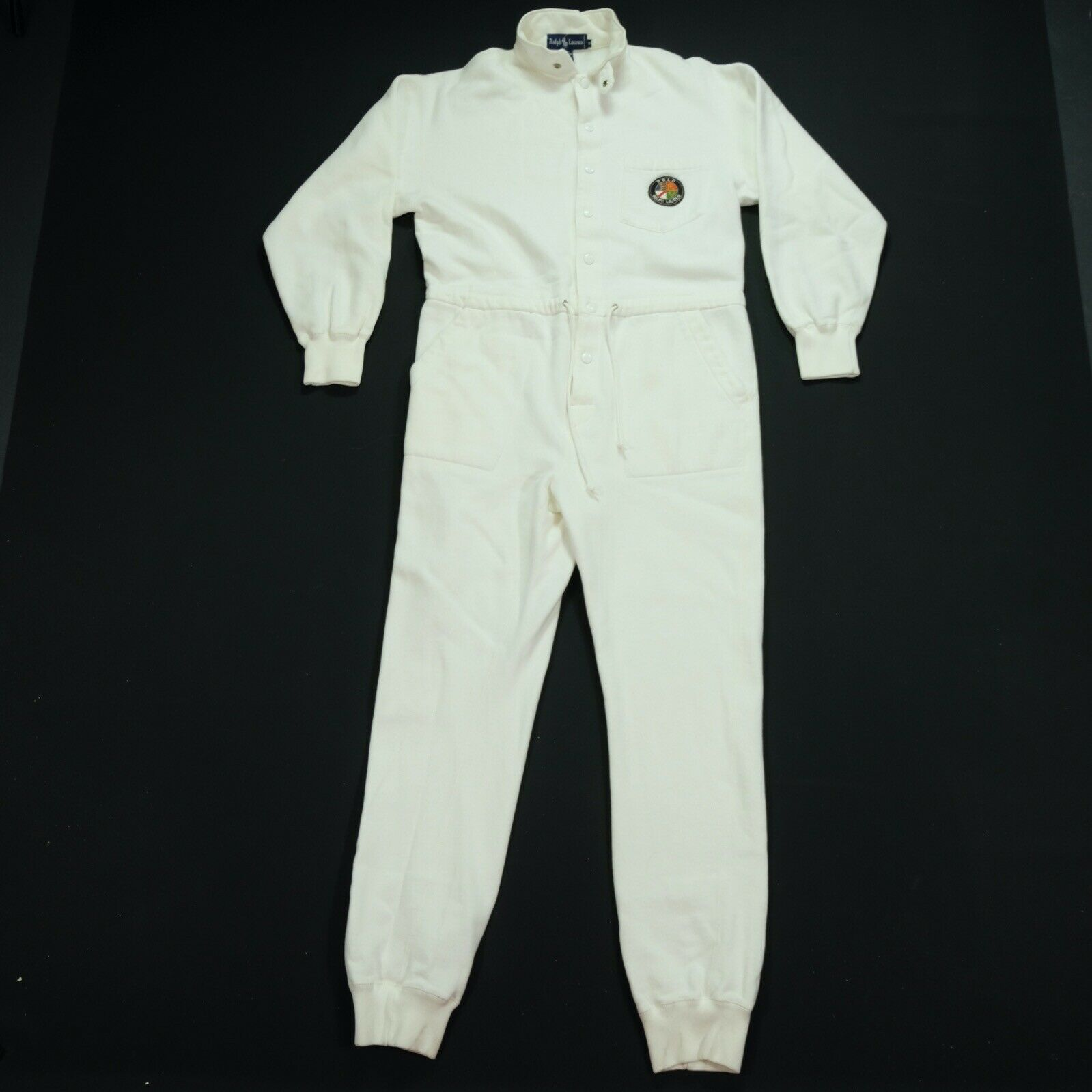 Rare VTG RALPH LAUREN Polo Spell Out Cookie Patch… - image 2