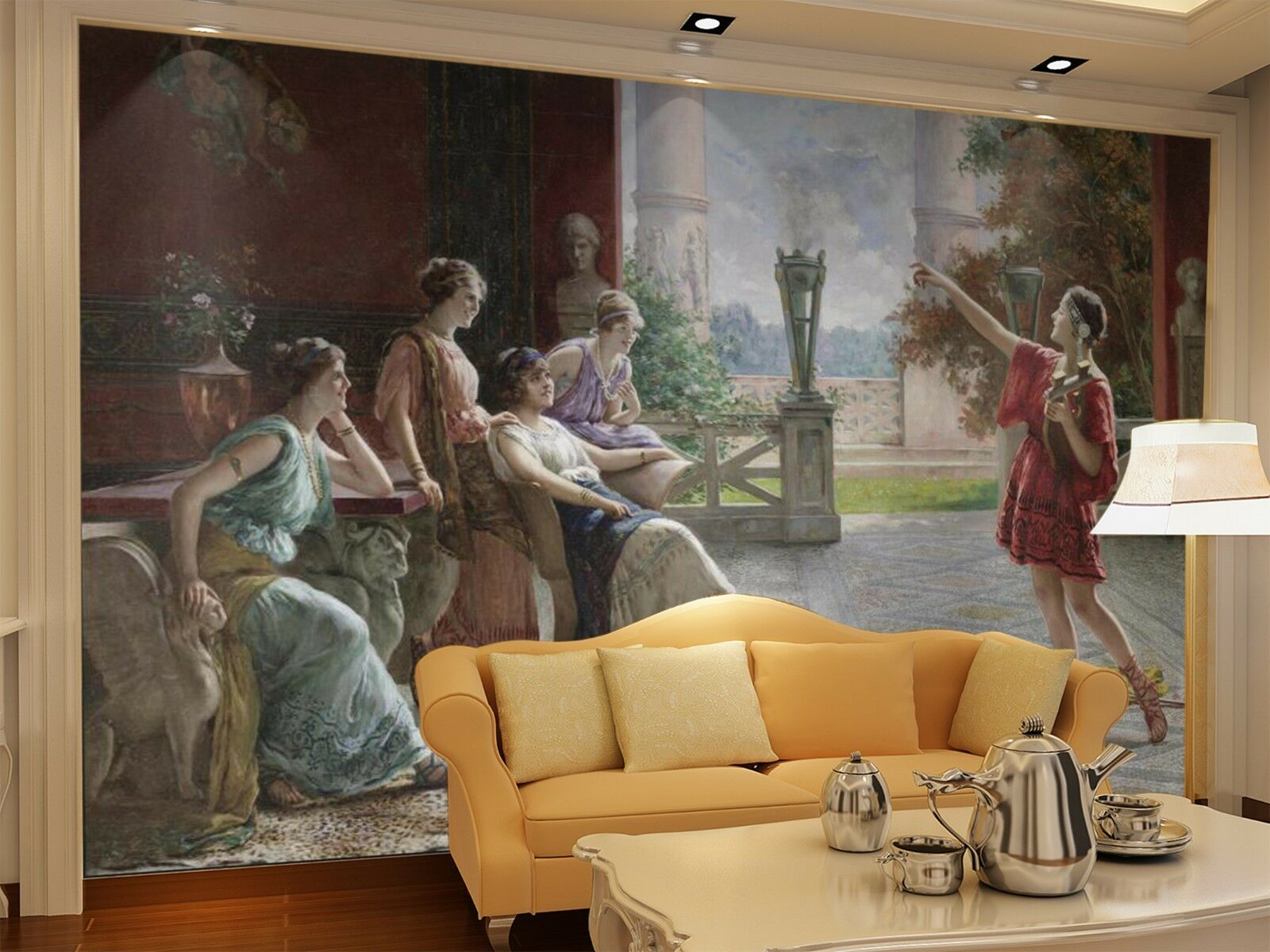 3D The damen looked 266 Wall Paper Wall Print Decal Wall Indoor Murals Wall US