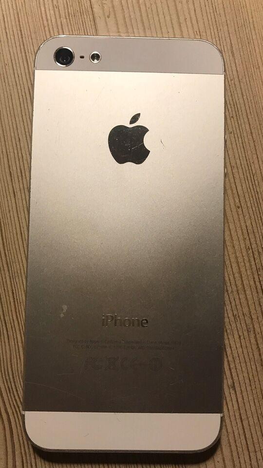 iPhone 5, 32 GB, aluminium