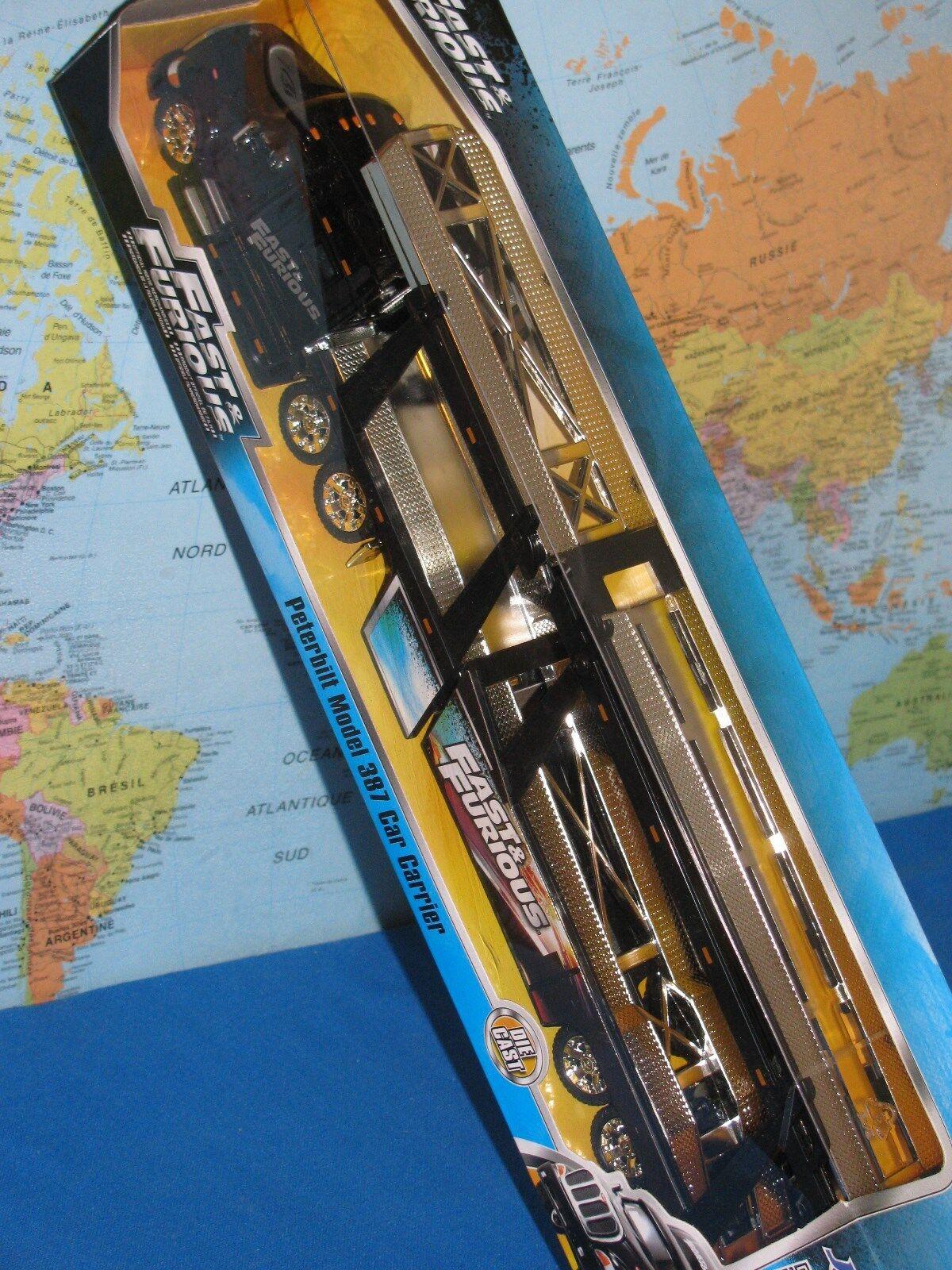 Jada Peterbilt Modèle 387 Voiture Transporteur Fast & Furious 38.1cm (38cm)