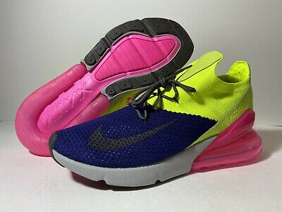 Nike Air Max 270 Flyknit Men's Shoe | Chaussure, Style, Ricardo