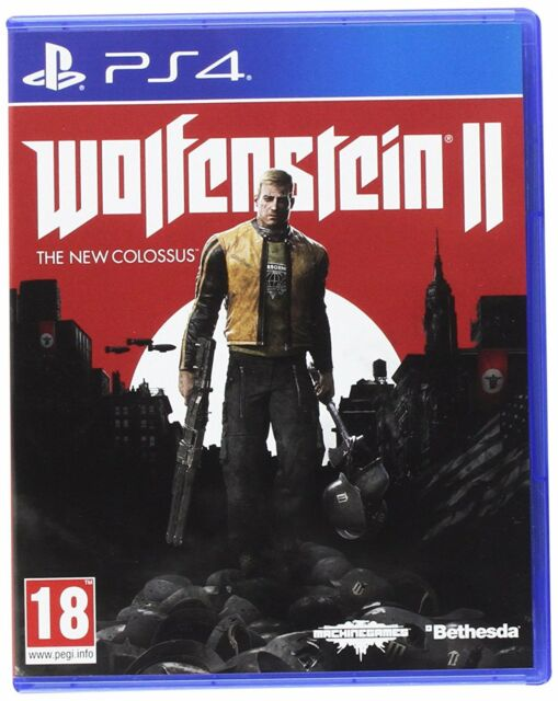 WOLFENSTEIN 2 The New Colossus PS4 EN CASTELLANO FISICO NUEVO Y PRECINTADO