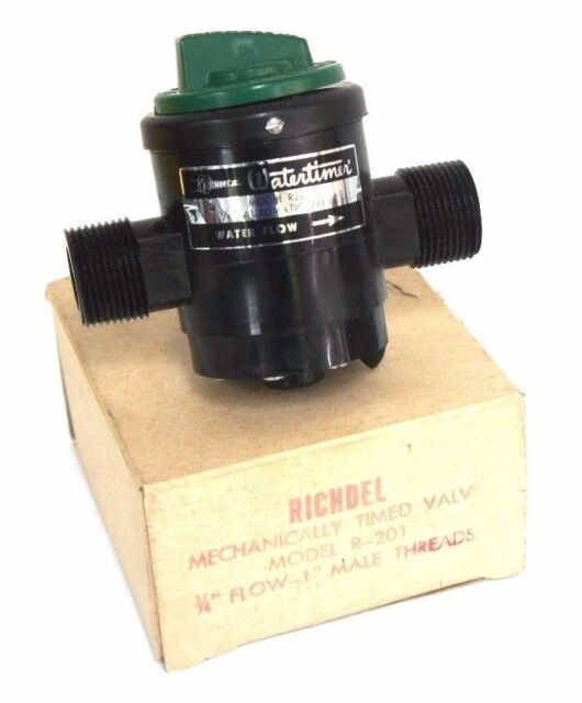 Nib Richdel Model R 201 Mechanically Timed Valve 3 4 Flow 1