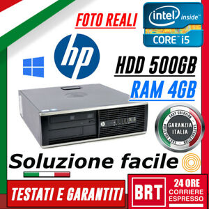 PC-COMPUTER-FISSO-SCUOLA-GAMING-HP-8200-SFF-CPU-I5-2400-4GB-RAM-HDD-500GB-WIN-10