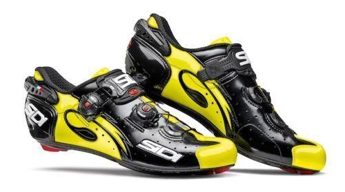 Schuhe SIDI WIRE CARBON NERO GIALLO FLUO N. 43