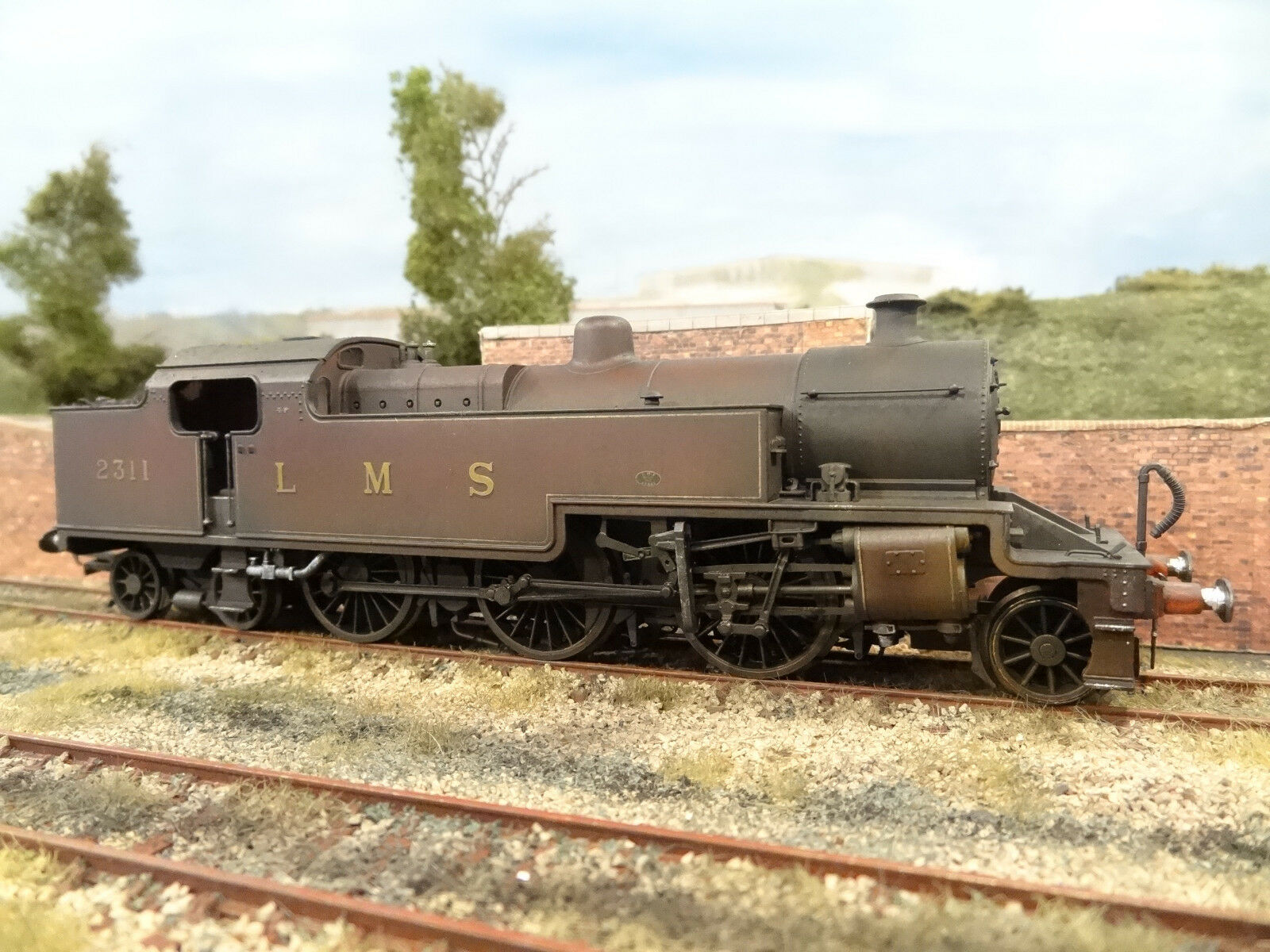 HORNBY LMS 4P FOWLER TANK 2311 (LINESIDE WEATHErosso) R2224