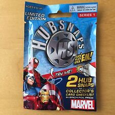New Limited Edition Marvel Hubsnaps 2-Pack