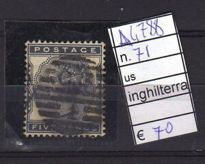 FRANCOBOLLI-INGHILTERRA-USATI-N-71-A4788