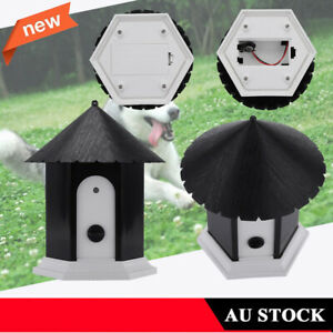 Neighbour-Dog-Bark-Control-Ultrasonic-Birdhouse-Anti-Barking-Device-Outdoor-AU