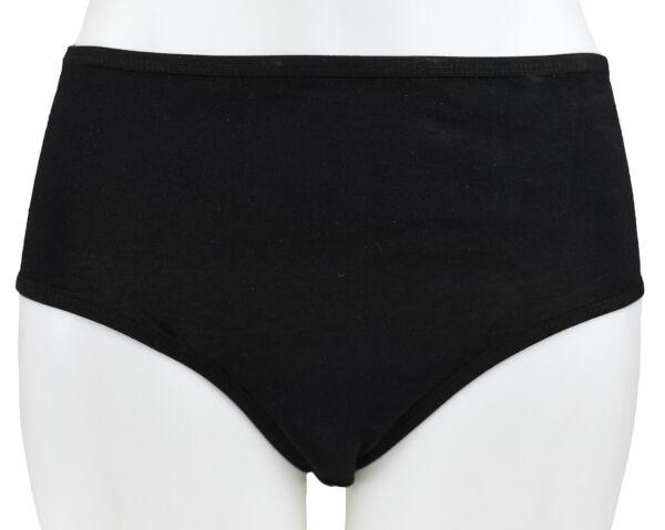 5 Damenslips 100% Baumwolle Übergröße bis 3XL Unterwäsche Unterhose Cotton