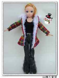 1-Popular-Barbie-Doll-sized-Casual-Clothes-1-pair-of-shoes-ON-SALE-Fashion-Gift