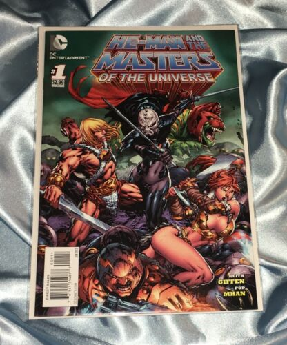 HE-MAN AND THE MASTERS OF THE UNIVERSE #1~1st PRINTING~RED SONJA~DC~FREE SHIP~NM