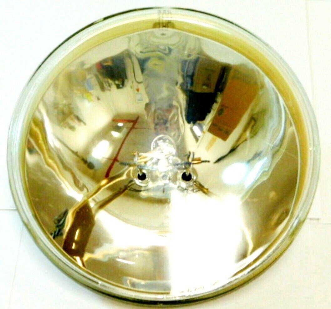 #2435 GE All Glass Sealed Beam Lamp H7606 12V 50W 17 1157