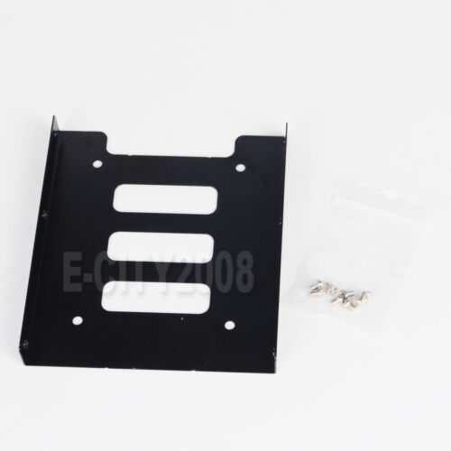 "4pcs 2.5/"" to 3.5/"" SSD HDD Metal Mounting Adapter Bracket Dock Hard Drive Holder"