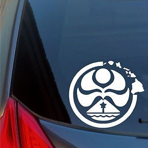 Hawaiian-Island-Creations-vinyl-sticker-decal-Skate-Surf-Car-Truck-board-Hawaii