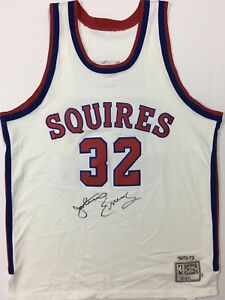 dc8fdc33a Image is loading JULIUS-ERVING-SIGNED-AUTOGRAPHED -VIRGINIA-SQUIRES-BASKETBALL-JERSEY-