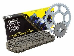 Triple-S-520-O-Ring-Chain-and-Sprocket-Kit-Black-Ducati-Monster-900-IE-Ring-2002