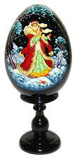 La fille de neige, Oeuf Collection Russe Conte Russe Snegourotchka Cadeau Noel