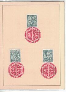 1941-Czechoslovakia-London-Exhibition-Catalogue-Military-Records-RARE-909