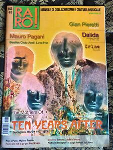 RARO! 163 Magazine about discography ps Ten Years After Dalida Pagani Beatles
