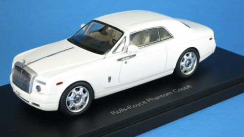Kyosho 1/43 Rolls Royce Phantom Coupe (English White) 05531EW Diecast NEW!!