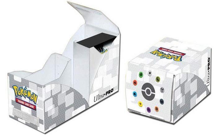POKEMON White Ultra Pro Pro Dual Deck Box