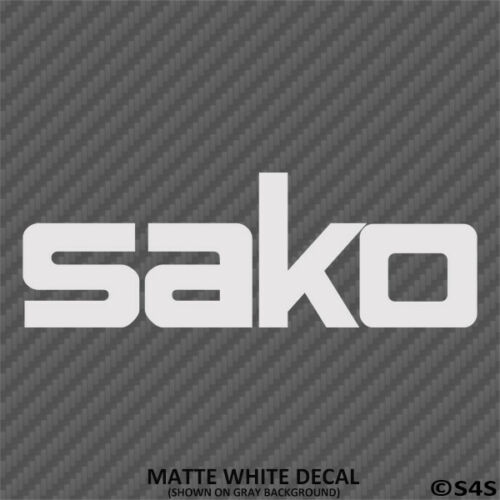 Choose Color//Size Sako Finland Firearms Hunting//Outdoor Sports Decal Sticker