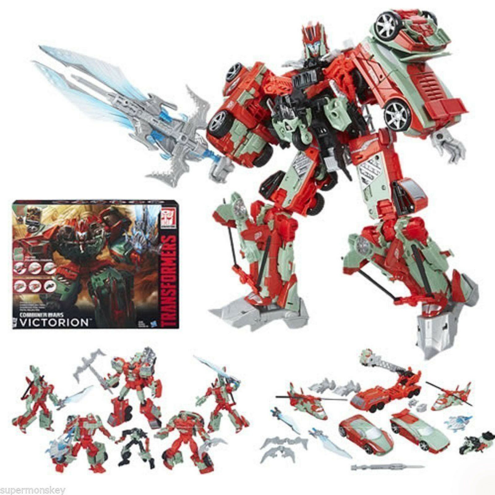 Transformers Combiner Wars VICTORION G2 Collection IDW Action Figure  New