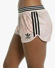 NWT adidas Originals Pastel Rose Running Shorts Women's LARGE Pastel Pink/BLK