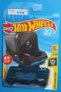 WORKS WITH GOPRO INTERNATIONAL CARD 2018 HOT WHEELS BLACK COLOR ZOOM IN