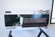 Korg Microkorg BKBK Black x Black limited edition Synthesizer/Vocoder w/ box