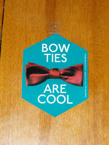 Doctor-Who-Bow-Ties-Are-Cool-Sticker-NEW