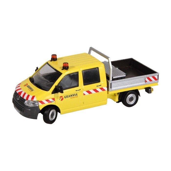 NZG art.888 02 VW VOLKSWAGEN t5 doppia cabina  Granvia  1 50