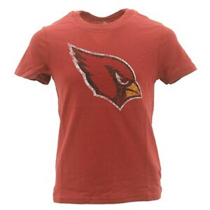 Arizona-Cardinals-Youth-Size-Girls-Distressed-Shirt-NFL-Official-Apparel-New