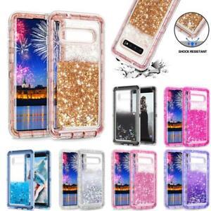 New Liquid Glitter Quicksand Case Phone Cover For Samsung Galaxy S10 S10 Plus Ebay