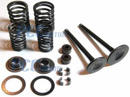 VALVES ASSEMBLY SET COMPLETE 50cc GY6 4 STROKE CHINESE SCOOTER 139QMB I VV04